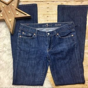 7 For All Mankind Dark Wash Bootcut Jeans size 30